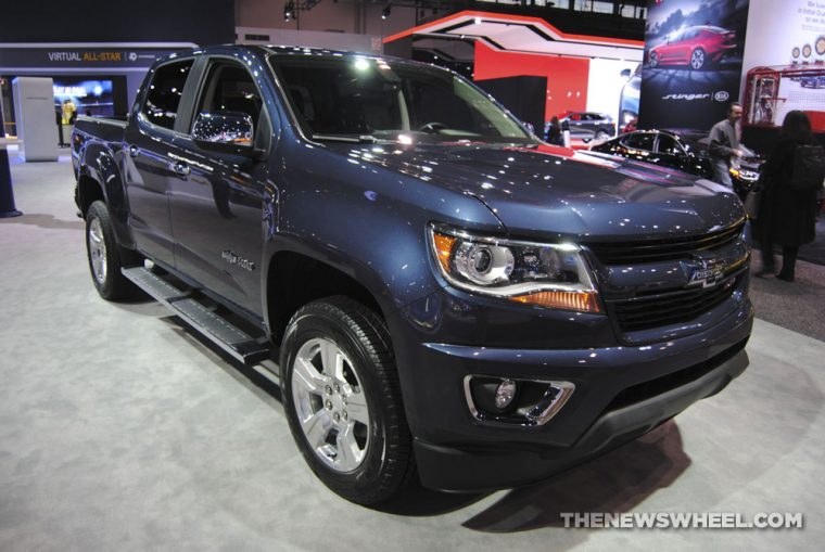 Chicago Auto Show - 2018 Chevrolet Colorado 100 Years