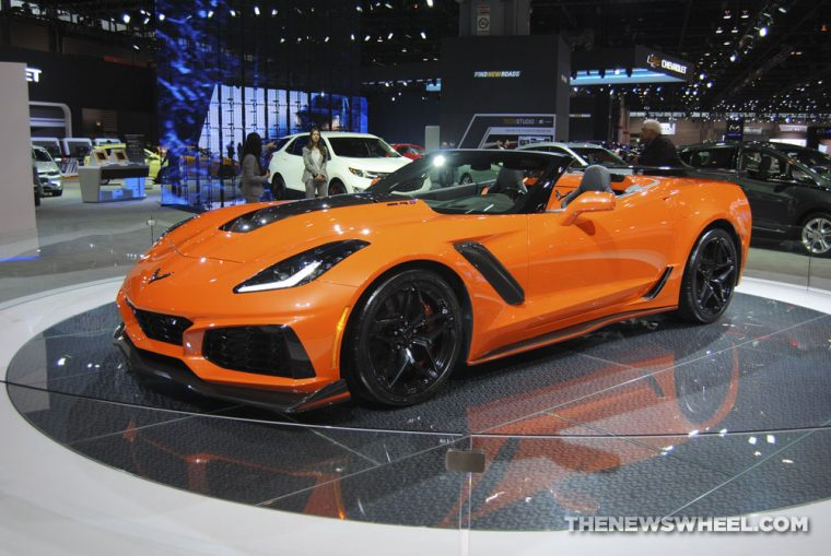 Chicago Auto Show - 2019 Chevrolet Corvette ZR1