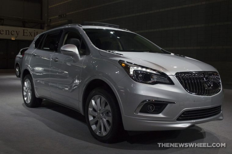 Chicago Auto Show - 2018 Buick Envision AWD