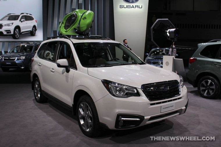 Chicago Auto Show - 2018 Subaru Forester