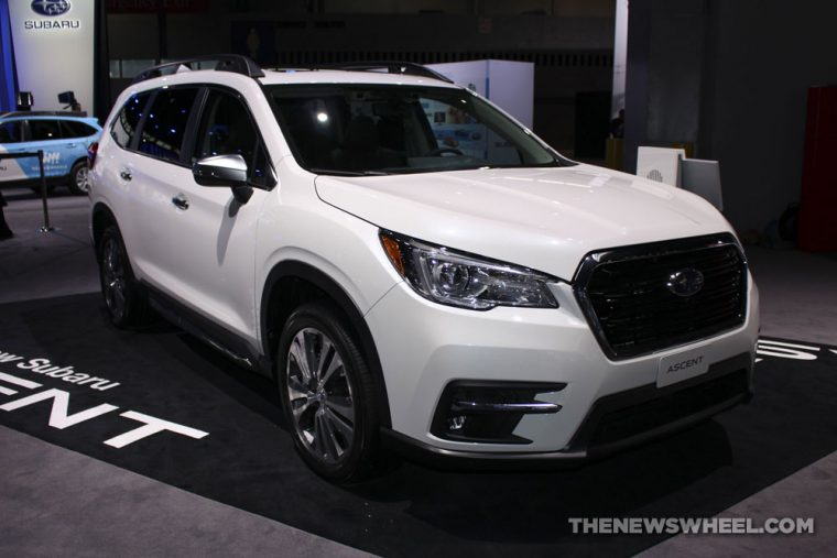 Chicago Auto Show - 2019 Subaru Ascent