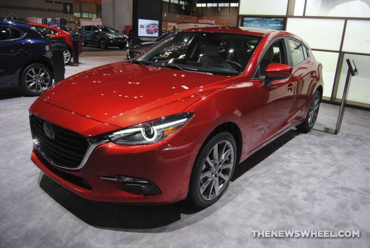2018 Mazda3 at Chicago Auto Show