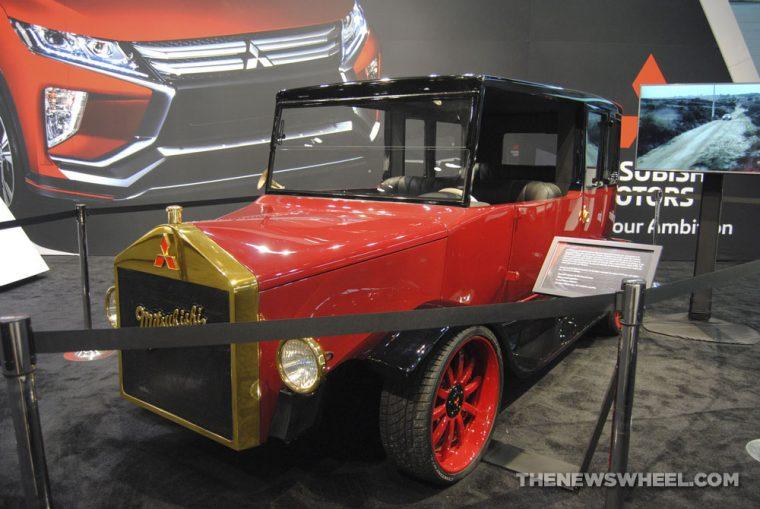 Chicago Auto Show - Mitsubishi Re-Model A Concept