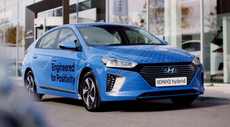 Blue most positive color happy hue psychology test Hyundai car body