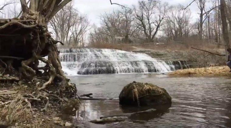 Thistlethwaite Falls in Richmond
