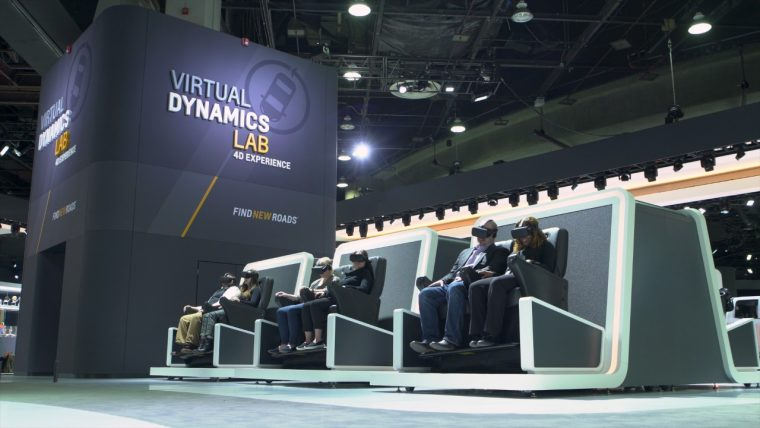 Chevrolet Virtual Dynamics Lab 4-D Experience