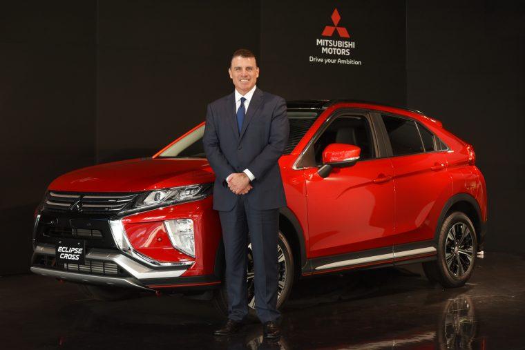 Mitsubishi CEO Fred Diaz