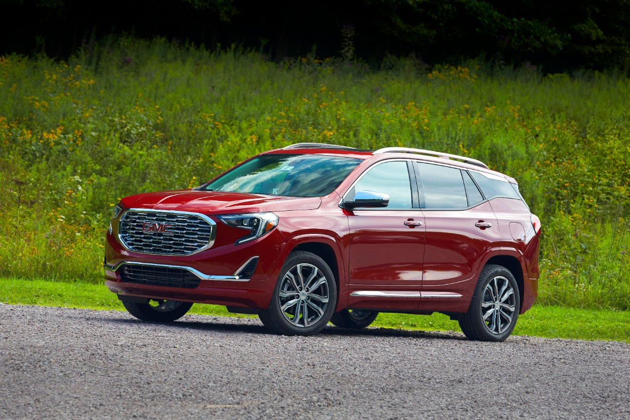 2018 gmc terrain launches in middle east the news wheel. Black Bedroom Furniture Sets. Home Design Ideas
