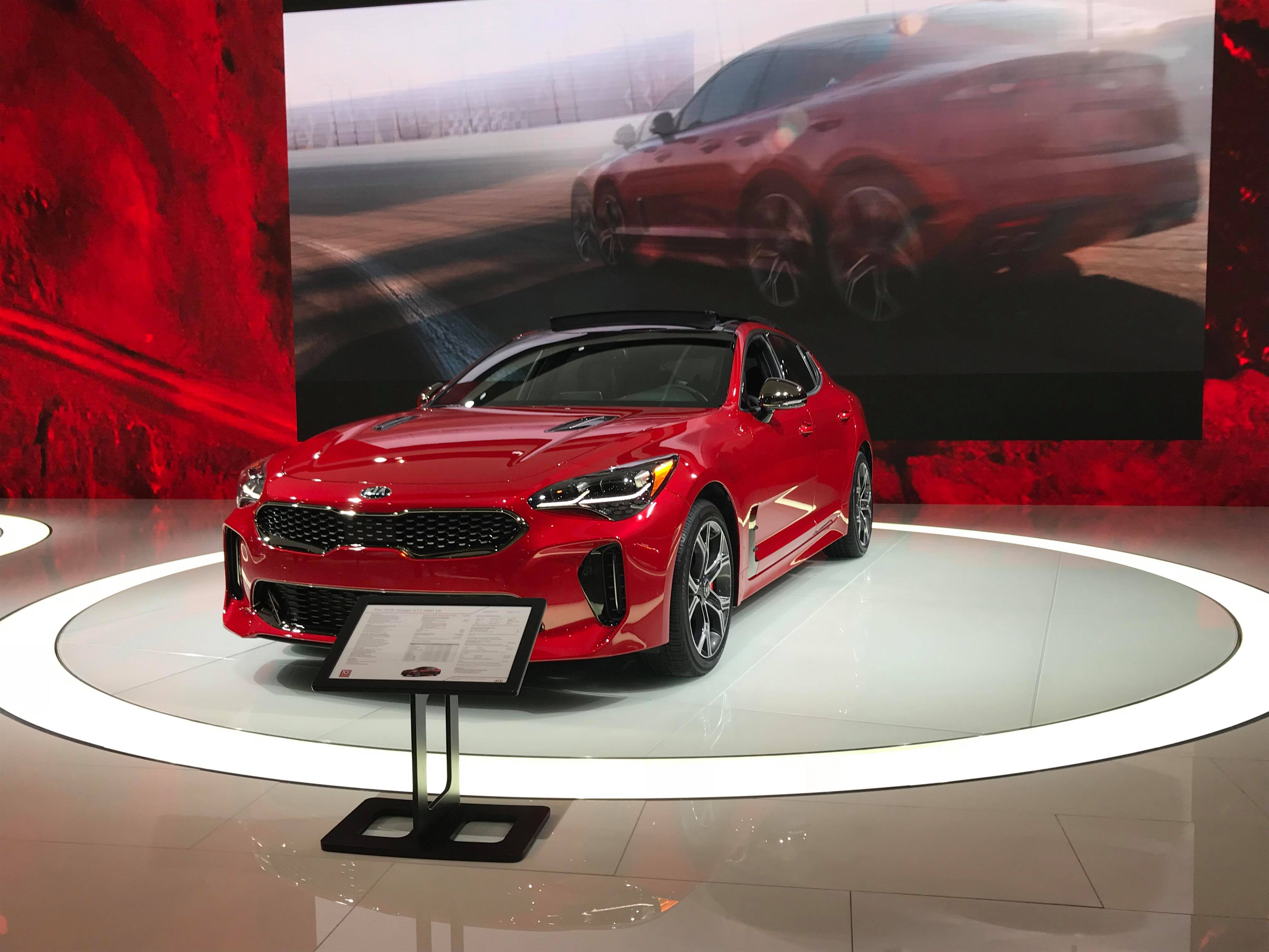 concept motion report sports year in hatch this more car kia gt hot show front quarter three news rio debuts stinger