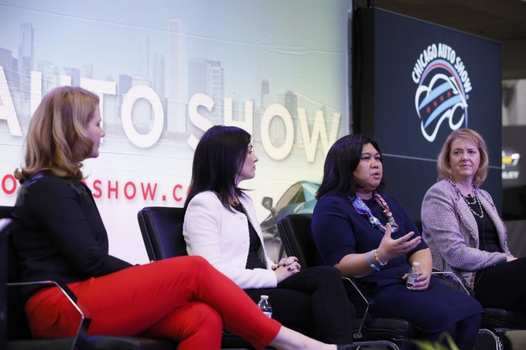 Chicago Auto Show - What Drives Her Panel