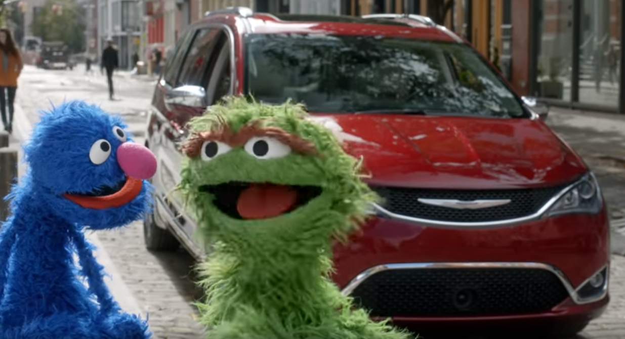 """2018 Chrysler Pacifica >> Latest """"Sesame Street"""" Chrysler Ad Pits the Pacifica ..."""