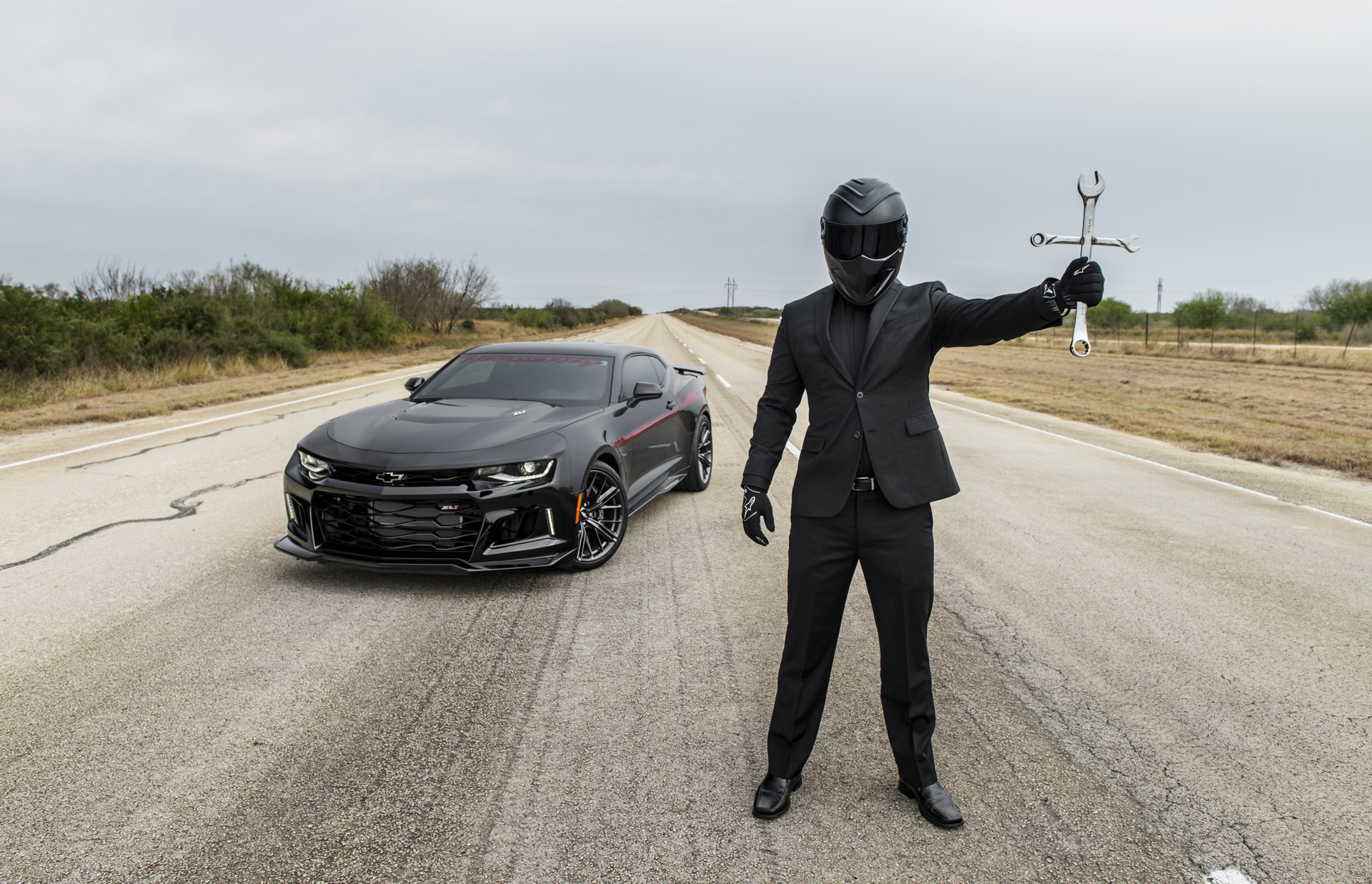 Hennessey Quot Exorcist Quot Camaro Zl1 Reaches Top Speed Of 217
