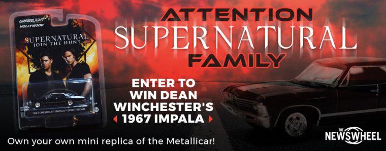 Supernatural Giveaway Banner