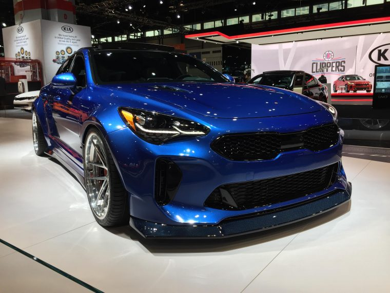West Coast Customs Kia Stinger GT Makes Stunning Appearance At - Kia car show