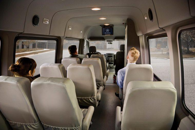 mini bus mercedes sprinter interior
