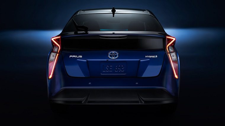 2018 Toyota Prius rear