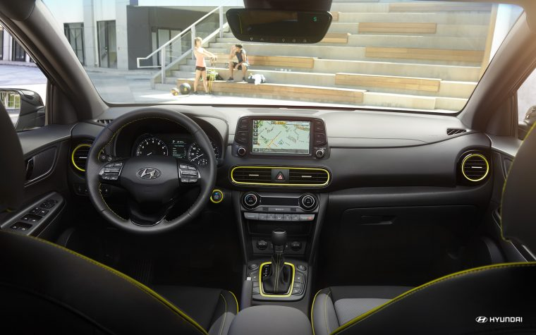 2018 Hyundai Kona ranked first by J.D. Power for Tech Experience