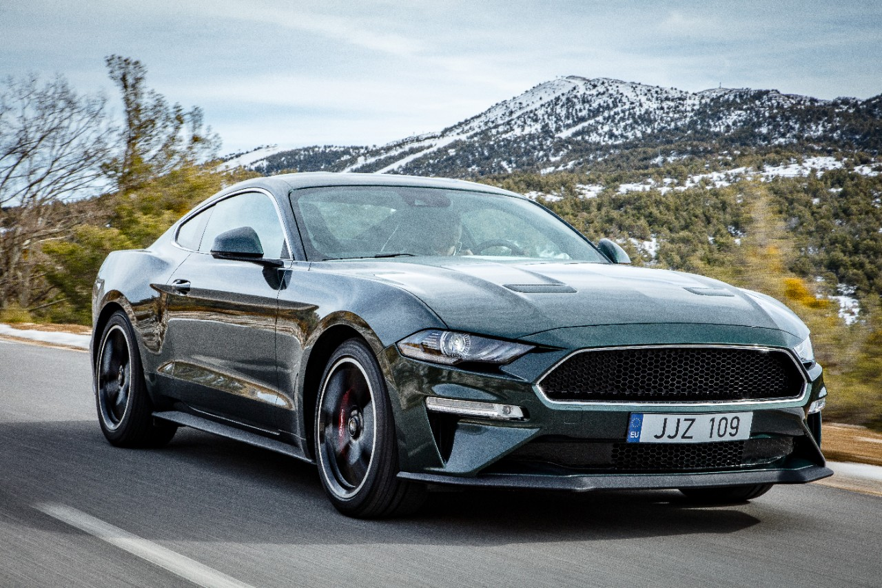 2019 ford mustang bullitt makes european debut with a chase through the swiss alps the news wheel. Black Bedroom Furniture Sets. Home Design Ideas