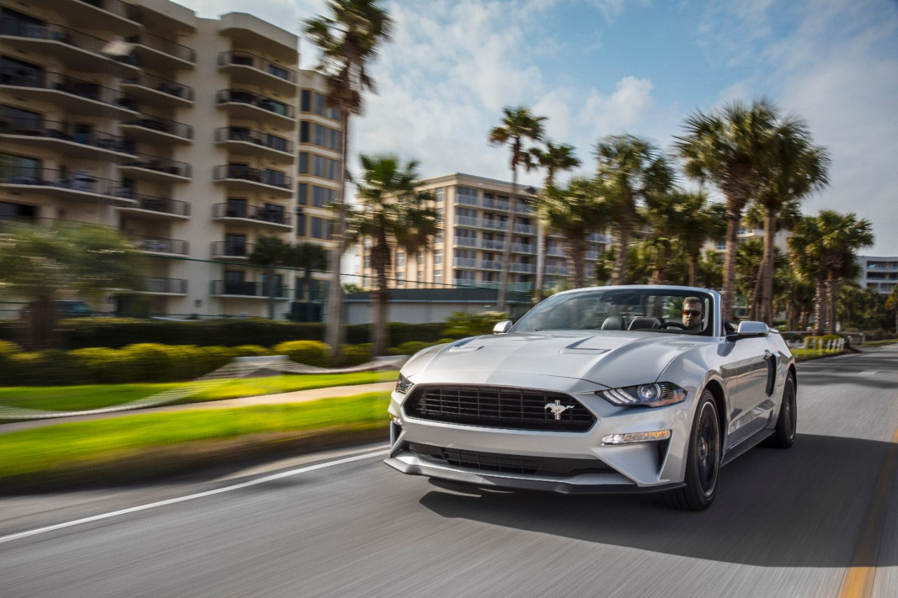 The 2019 Ford Mustang California Special Gets Rev Matching And A Stripe Drive