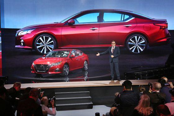 Nissan Reveals 2019 Altima at New York International Auto ...