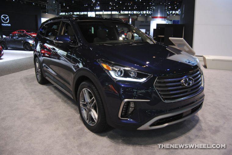2018 Hyundai Santa Fe - Chicago Auto Show