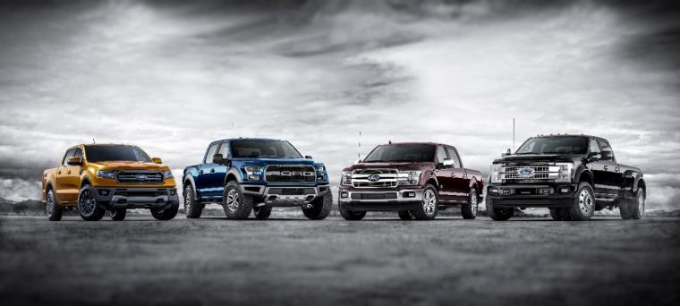 Current Ford Truck Lineup