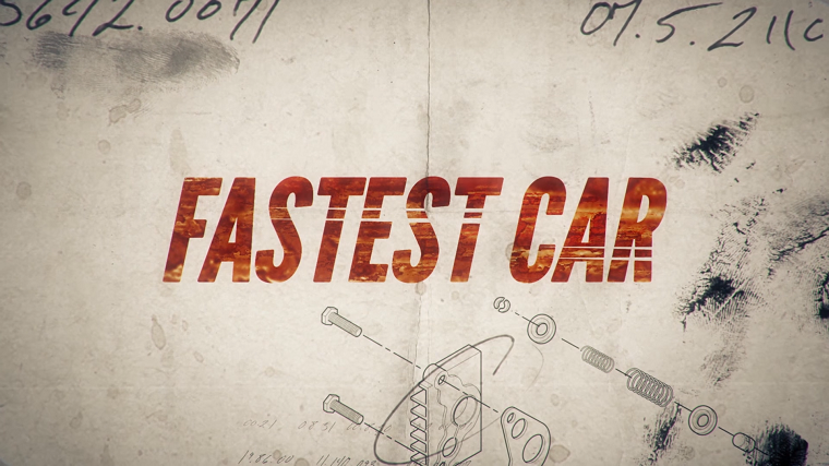 Netflix's Fastest Car Title Card