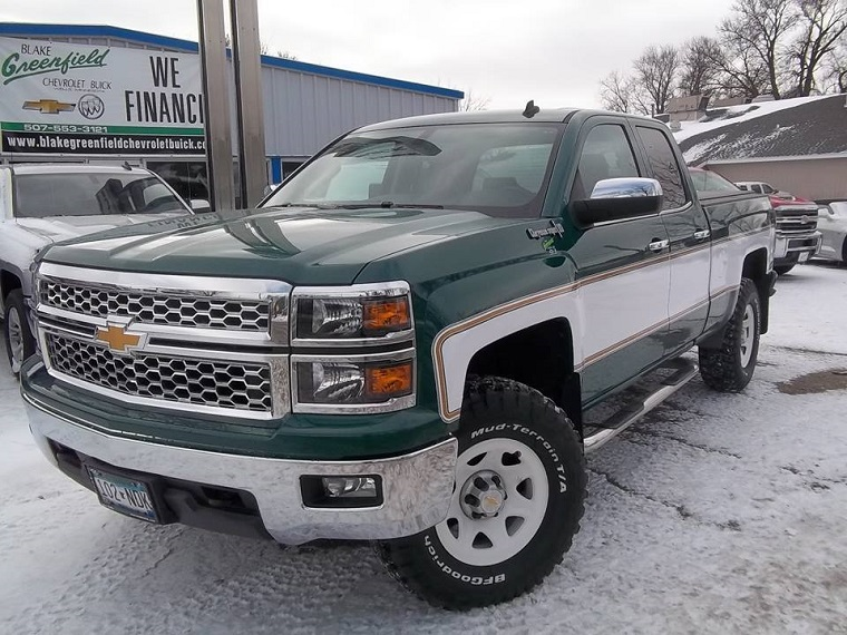 Chevy Dealership Redesigns Silverado Pickup to Look Like ...