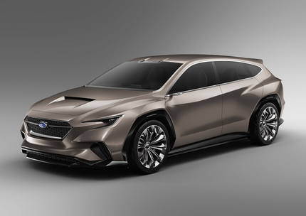 Subaru Viziv Tourer Concept Debuts At Geneva International Motor