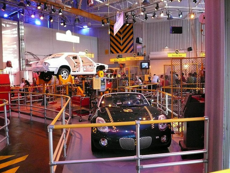 How Epcot S World Of Motion Became Test Track The News Wheel