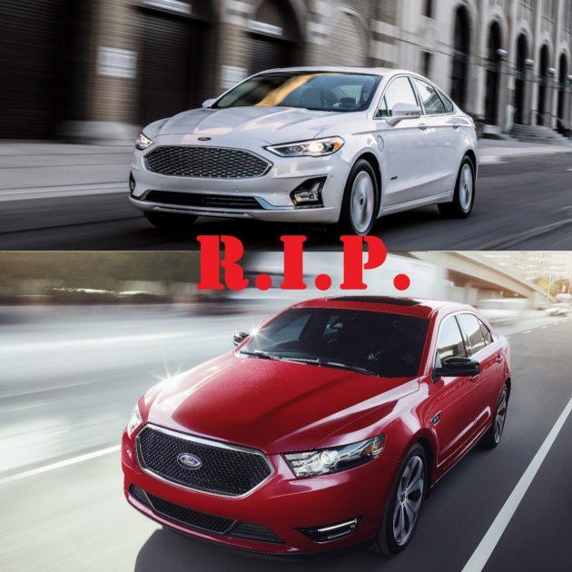 Ford kills sedans