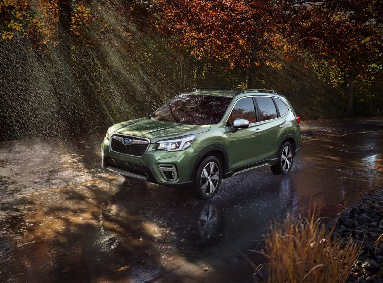 A First Look At The 2019 Subaru Forester The News Wheel