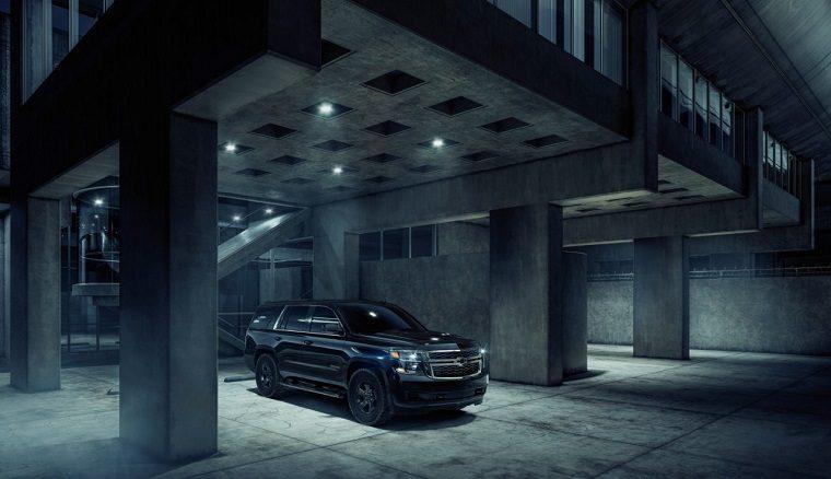 2018 Chevy Tahoe Custom Midnight Edition black SUV