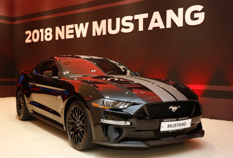 2018 ford mustang makes korean premiere at special showcase event the news wheel. Black Bedroom Furniture Sets. Home Design Ideas