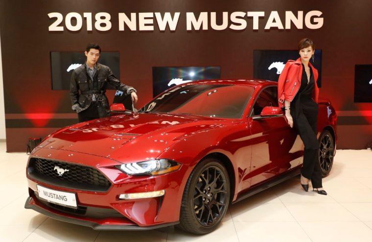 2018 Ford Mustang Korea