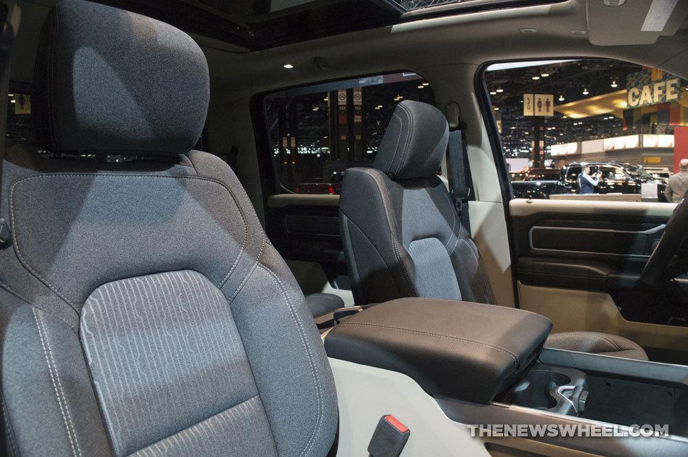 Ram Big Horn >> WardsAuto Includes 2019 Ram 1500 on 10 Best Interiors List ...