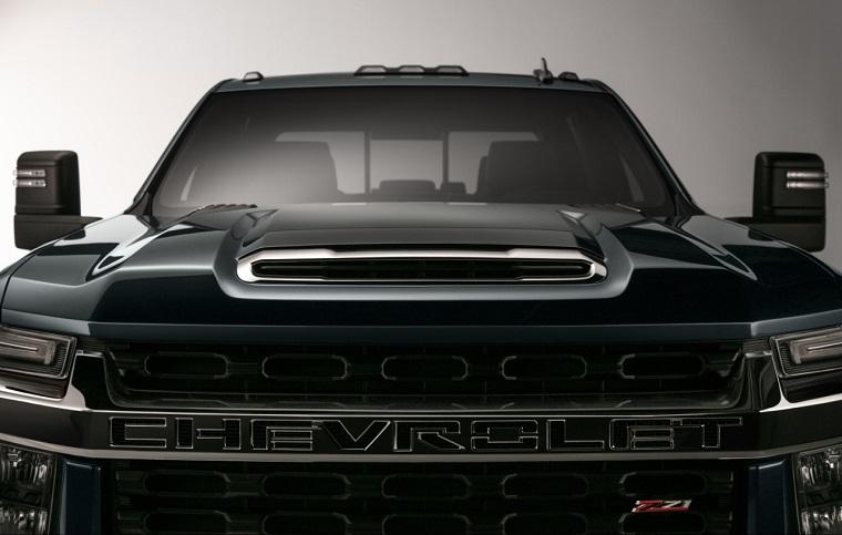 Chevy Teases Next-Generation 2020 Silverado HD Pickup ...