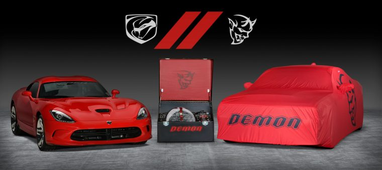 Fca To Auction Off The Last Dodge Viper And Last Dodge Demon As A