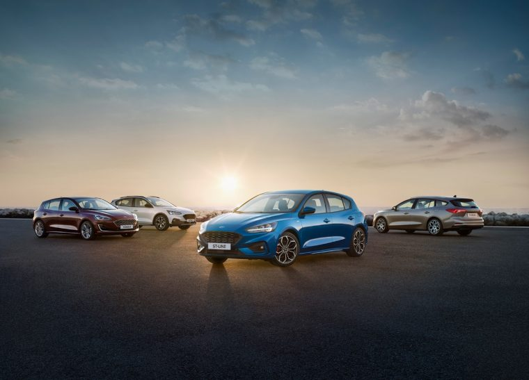 Ford Focus lineup Europe