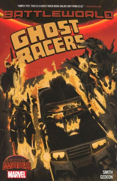 Ghost Racers comic book graphic novel automotive cars racing gearheads series