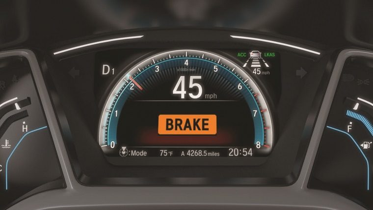 Honda's Collision Mitigation Braking System