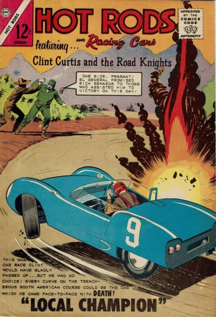 Hot Rods and Racing Cars comic book graphic novel automotive cars racing gearheads series