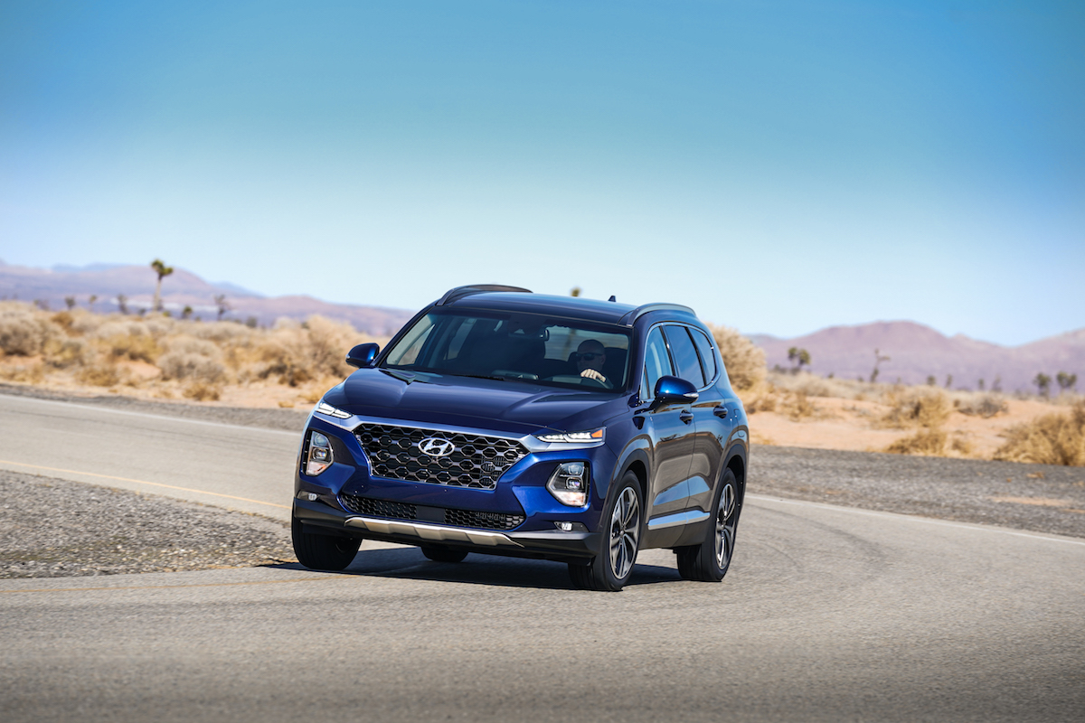 introducing the all new 2019 hyundai santa fe the news wheel. Black Bedroom Furniture Sets. Home Design Ideas