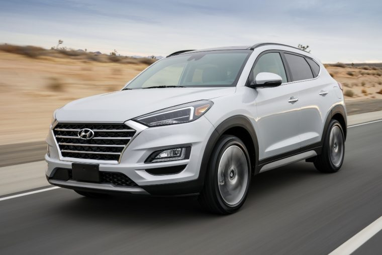 what 39 s new on the 2019 hyundai tucson the news wheel. Black Bedroom Furniture Sets. Home Design Ideas