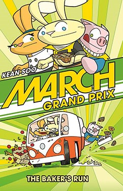 March Grand Prix comic book graphic novel automotive cars racing gearheads series