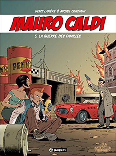 Mauro Caldi comic book graphic novel automotive cars racing gearheads series