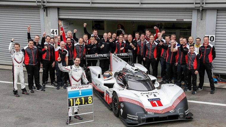 Porsche 919 Hybrid Evo at Spa