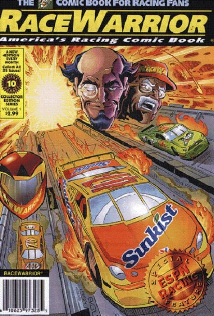 Race Warrior comic book graphic novel automotive cars racing gearheads series