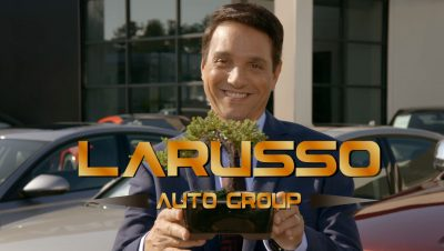 The Karate Kid Cobra Kai LaRusso Auto Group Car commercial trailer bonsai daniel YouTube (2)