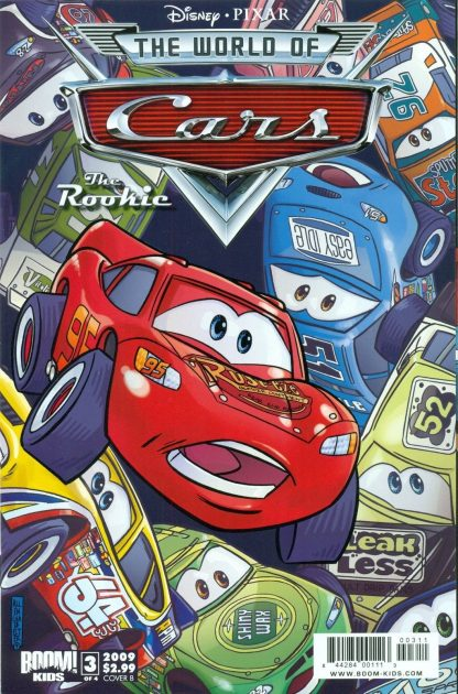 World of Cars Disney Pixar comic book graphic novel automotive cars racing gearheads series